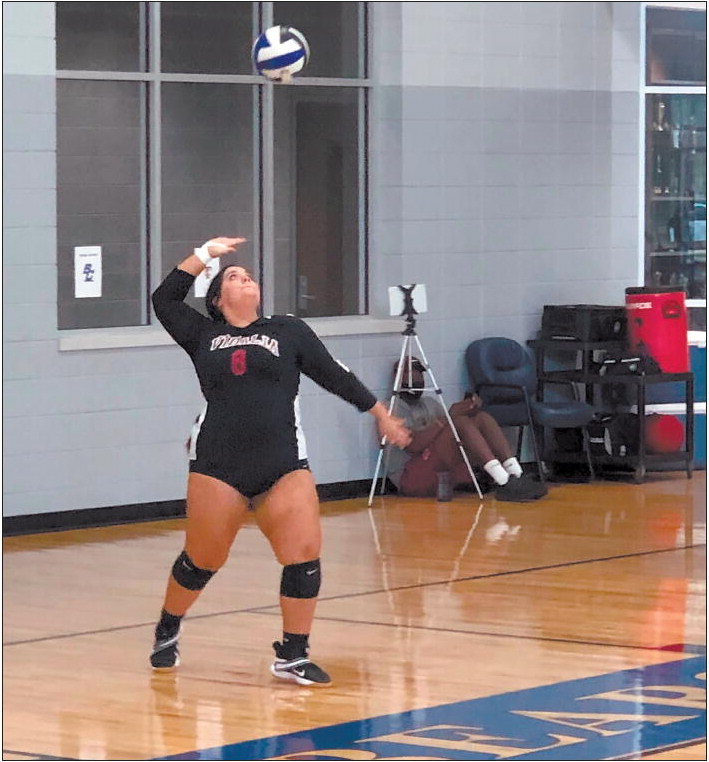 VHS Volleyball Wins At Burke