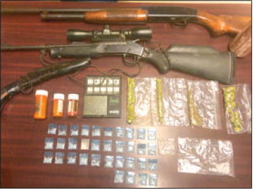 Montgomery County Man Arrested  On Drug and Weapons Charges