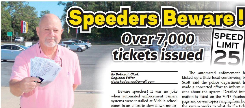 Speeders Beware !