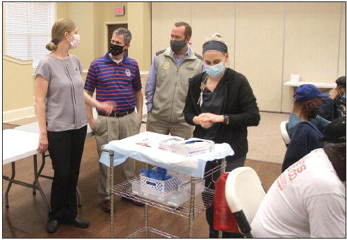 City of Vidalia, EGHC  Team Up to Provide  COVID-19 Vaccinations