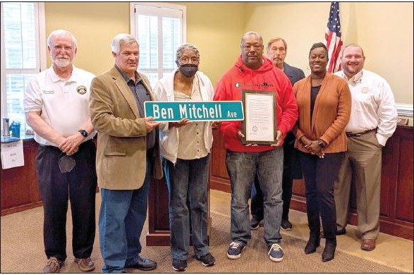 Late Councilman Ben Mitchell Honored  With Renaming of Street at Faison Park