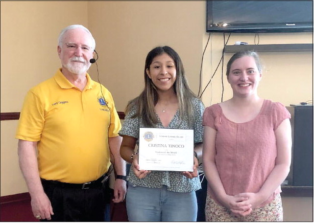 Lyons Lions Club Announces  Students of the Month of April