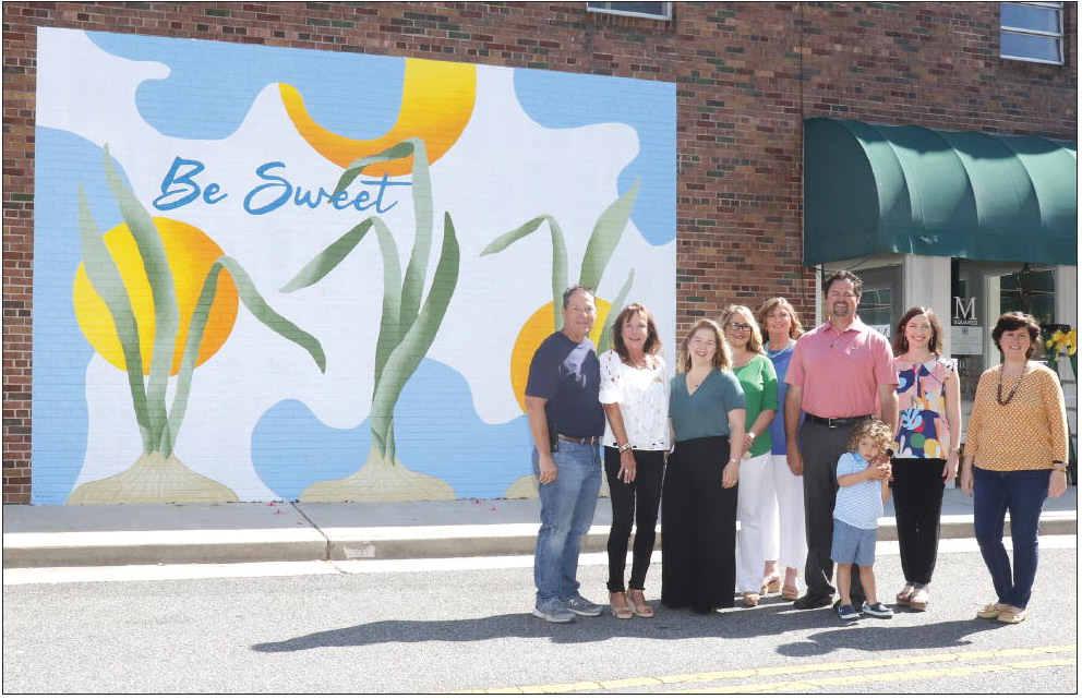 Mural Is SWEET Addition To Downtown