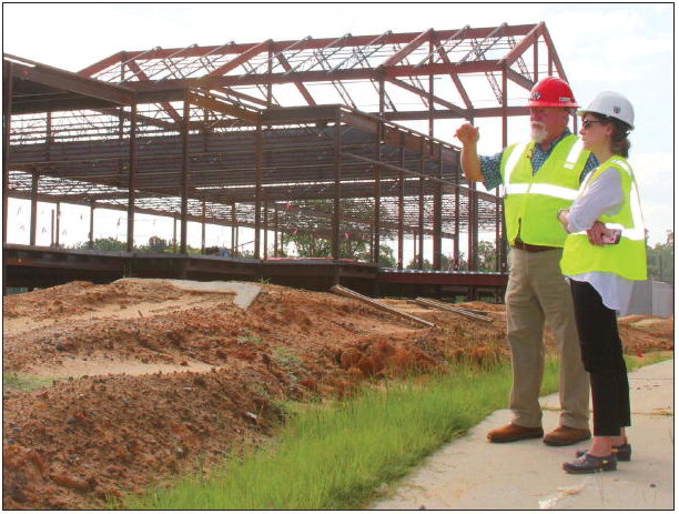 Construction on Target for Fall 2022  Opening of New Wheeler Co. School