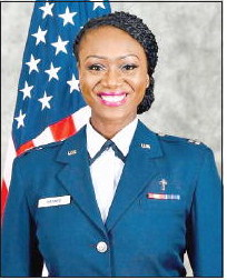 U.S. Air Force Captain Returns  On Leave to Host Local  Leadership Conference