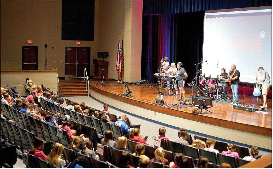 Fellowship Of Christian  Athletes Holds E3 Camp