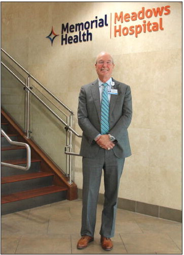Departing CEO Alan Kent Looks Back  On 21- Year Career at Meadows Health