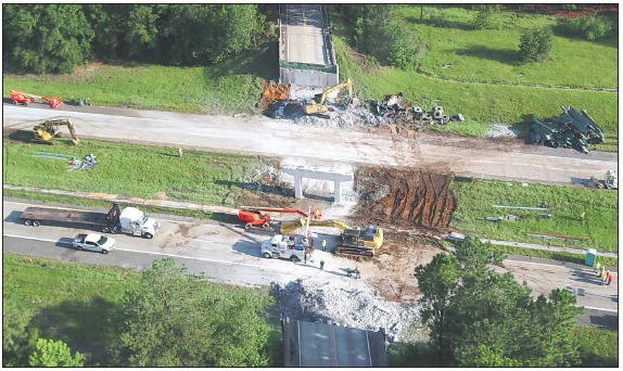 Interstate 16 Reopens Early