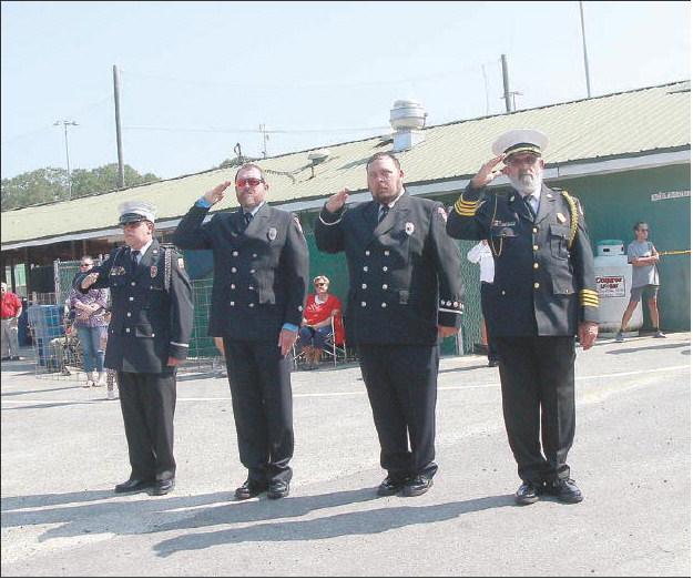 Fire Departments Host 9-11 Memorial Service